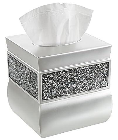 Housse pour boîte à mouchoirs, support boîte mouchoirs carrée