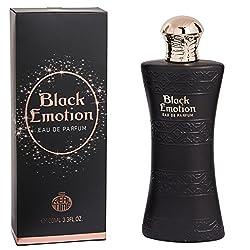 Black Emotion - Parfum Femme GENERIQUE / Odeur EXTREMEMENT proche d'un parfum de LUXE / Noel / St Valentin / Cadeau