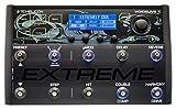 TC Helicon VOICELIVE 3 EXTREME - Pedalera multiefectos de suelo para guitarra, automatización de efectos, hasta 500 presets