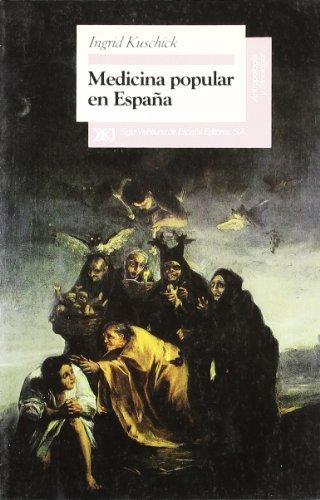 Medicina popular en España (Antropología y etnología)