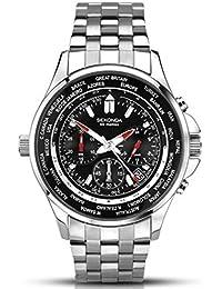 Temporizador World Sekonda cronógrafo para hombre reloj de pulsera (90HAH48)