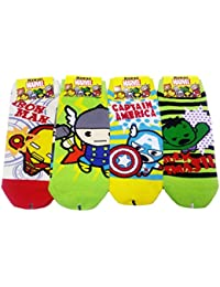 Calcetines de colección JJMax Boy's Cotton Blend Superhero