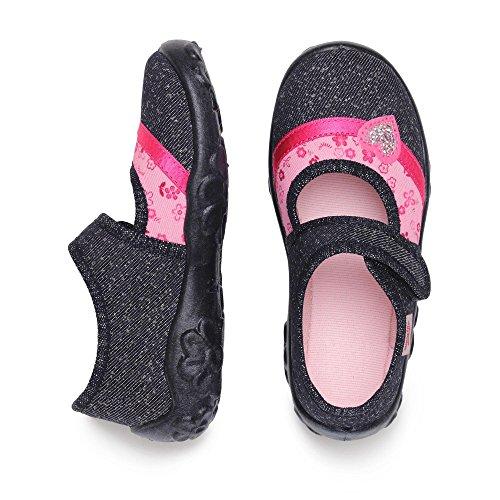 Superfit BELINDA, Chaussons fille Marine/Pink