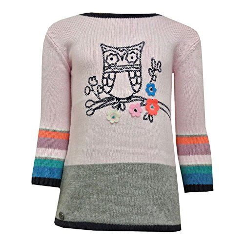 Boboli - Baby Mädchen Kleid Strickkleid, rosa - 202037 - 104rosa