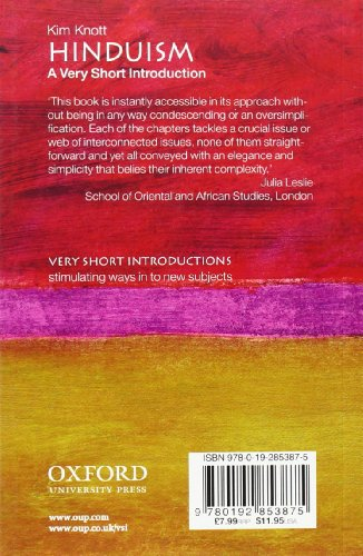 Hinduism: A Very Short Introduction (Very Short Introductions)