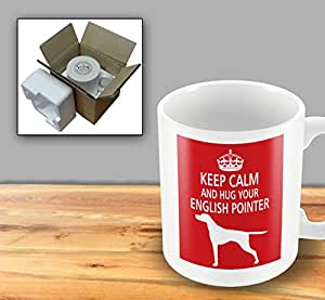 Dog Mug - Keep Calm And Hug Your English Pointer