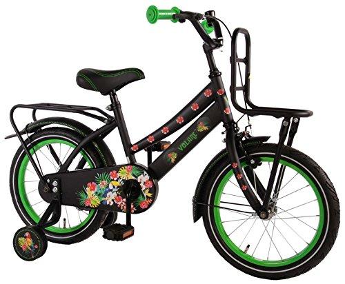 "Volare 16\"" 16 Zoll Kinder Holland KINDERFAHRRAD Fahrrad MÄDCHENFAHRRAD KINDERFAHRRAD Cruiser Rad Bike Rücktrittbremse Tropical Girls"