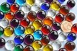 70 g. Deko Mosaiksteine Glasnuggets 10-12mm Buntmix ca. 50 St.