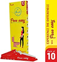 The Love Co. Stand & Pee Disposable Female Urination Device - 10 Funnel