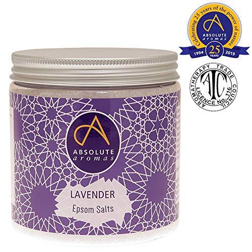 Absolute Aromen Lavendel Epsom Badesalz, 575g