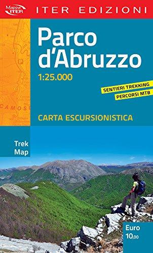 Parco d'Abruzzo. Carta escursionistica 1:25.000