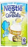 Nestlé Bébé P'tite Céréale 5 Céréales Dès 6 Mois 400 g