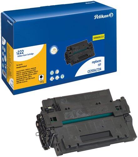 Preisvergleich Produktbild Pelikan Toner-Modul 1222 ersetzt HP CE255A, Schwarz, 7300 Seiten