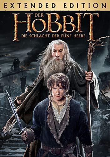 Der Hobbit: Die Schlacht der funf Heere - Extended Edition [dt./OV] (Ringe Video-spiel-paar)