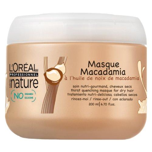 LOREAL nature Riche Macadamia Maske 200 ml