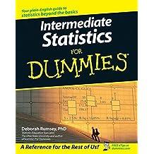 Intermediate Statistics For Dummies by Deborah J. Rumsey (2007-03-12)