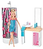 Barbie Doll and Bathroom Furniture Set, Multi Color - Best Reviews Guide
