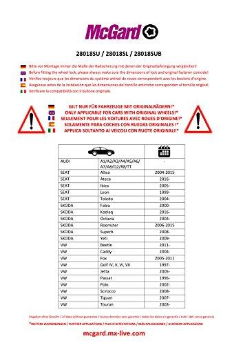 28018SU Radsicherungsbolzen SU (Standard) M14 x 1,50, Kugelsitz R13, Schaftlänge 26,7 mm, Gesamtlänge der Schraube 46,7 mm, SW17, Schlüsseldurchmesser 25,8 mm - 2
