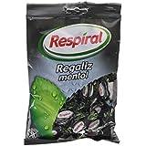 Respiral Regaliz Mentol Caramelo Duro Refrescante con Sabor a Regaliz y Mentol - 150 g