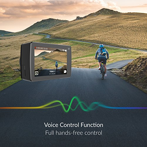 YI 4K Action Kamera Full HD 12MP Actioncam WIFI mit 155° Weitwinkel Schwarz - 7