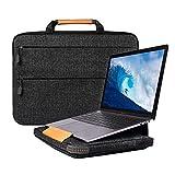 13.3 Zoll Laptop Hülle, Laptop Tasche Sleeve mit Laptopständer Funktion, Notebooktasche Hülle für 13 Zoll MacBook Pro Touch Bar/Air, Surface Laptop 2017, 12.9 inch iPad Pro (Schwarz, 13,3 Zoll)
