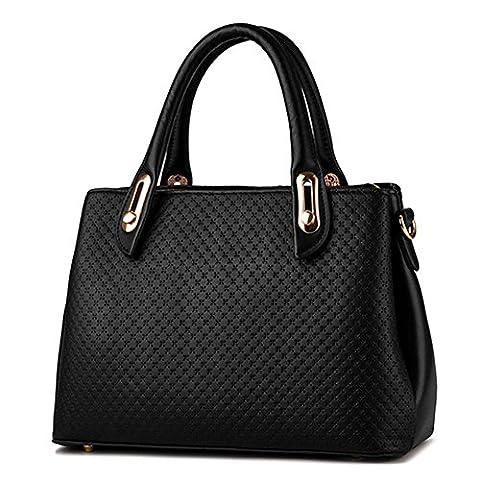 C.CHUANG Lady Euroupe and America Fashion Leather Elegant Tote Shoulder Handbag(C8)