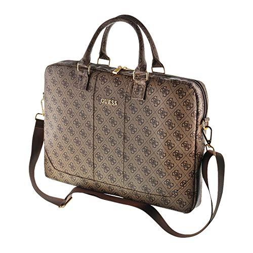 Guess Laptoptasche, Tasche für 13'' bis 15'' Geräte, Abnehmbarer Schulterriemen, Universal Laptoptasche mit Multifunktionsinnentaschen, Logo-Innenfutter -