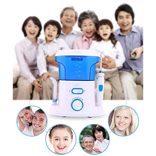 AKAKKSKY Elektrische Dental Munddusche Flosser 600ML Tank Kapazität 10 Einstellung des Wasserdrucks für Home Outdoor Travel Tragbare Reinigungswerkzeuge