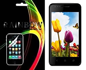 Rainbow Clear Screen Guard/Protector For Karbonn A2 Plus