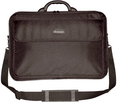 Vivanco 17 WIDE Notebooktasche für 43,2 cm (17 Zoll) Widescreen-Geräte,schwarz (17-zoll-widescreen Laptop-tasche)
