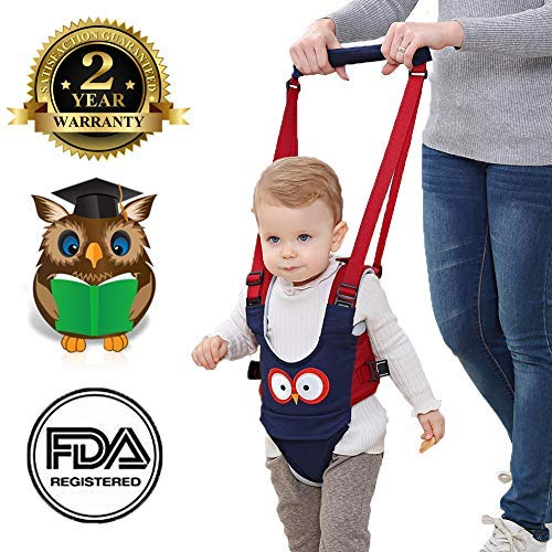 Arnés de Seguridad para Niños Arnés para Andar de Bebés Aprender Caminar Correa Ajustable para Caminar Uso Dual Seguro Adecuado para Bebés de 8 a 24 Meses