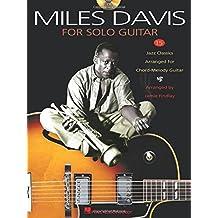 Davis Miles For Solo Guitar Tab Bk/Cd
