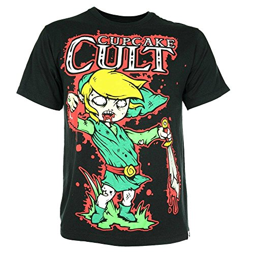 (Cupcake Cult Legend Of Zombie T-Shirt schwarz S)