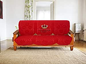 Buy Home Crown 3 Seater Sofa Cover Set Premium Quality Cotton