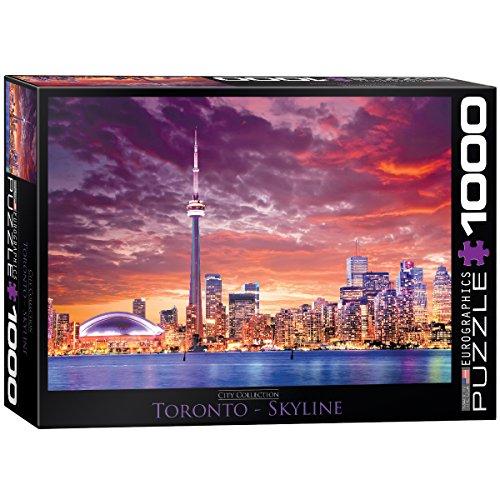 Cn Kanada, Tower (Eurographics 6000-0738 - Toronto - Skyline - 1000 Teile Puzzle)