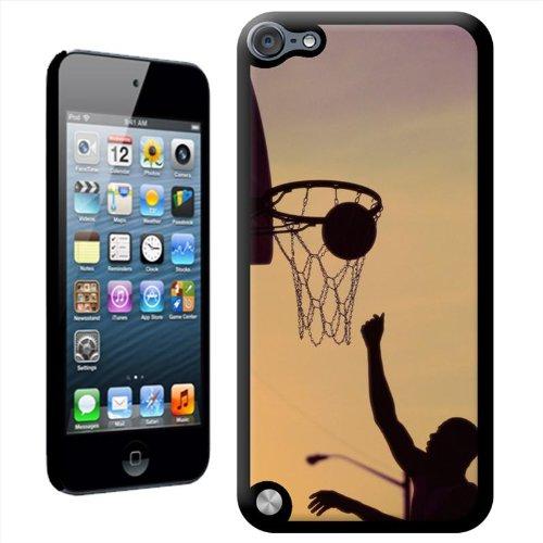 Fancy a snuggle 'uomo di punta per il basket nel canestro' duro custodia cover posteriore per apple ipod touch 5th generation