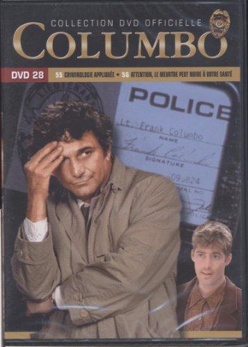 Columbo - Dvd 28 - Saison 10 - épisodes 55.Crimminologie appliquée. 56.Attention, le meurtre peut nuire à votre santé - 10 Applique