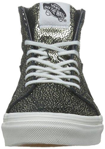 Vans Sk8-Hi Slim Zip Gold Dots Gold Black Or