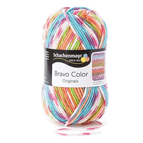 Schachenmayr Bravo Color 9801421-02081 halloween Handstrickgarn, Häkelgarn