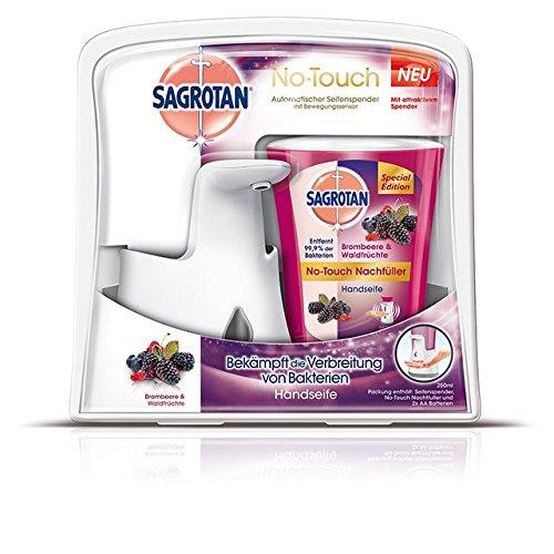 sagrotan-no-touch-automatischer-seifenspender-starter-set-brombeere-und-waldfruchte-1er-pack-1-x-250