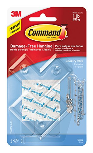 command-17097clr-es-jewellery-rack-clear