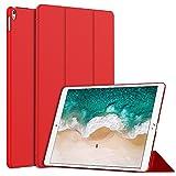 JETech Hülle für iPad Air 10,5 (3. Generation 2019) und iPad Pro 10,5 2017, Schutzhülle mit Ständer Funktion und Auto Schlafen/Wachen, Rot