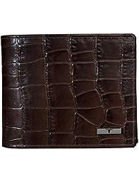 Urban Forest Drogon Croco Print RFID Blocking Leather Wallet for Men