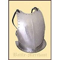 Medieval de pecho de acero Pecho harnisch de armadura Armadura tanque placa LARP Vikingo Medieval