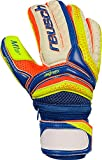 Reusch Kinder Serathor Pro M1 Ortho-Tec Junior Torwarthandschuhe, Dazzling Blu/Safet Yello/Safet, 5
