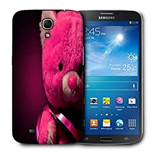 Snoogg Pink Teddy Bear Designer Protective Back Case Cover For Samsung Galaxy Mega 6.3