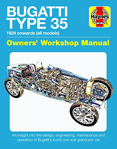Bugatti Type 35 Owners' Workshop Manual: 1924 Onwards (All Models) - An Insight Into the Design, Engineering and Operation por Chas Parker