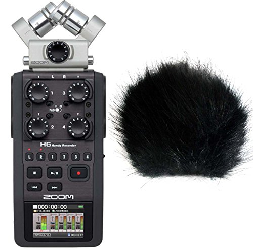 Zoom H6 Handy Recorder 6 tracce di registrazione + Keep Drum Fell-?? wsbk