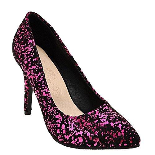 a7249ccb09b47e Misssasa Chaussures Femme Spicco Moda Rose EDx1uS - misgive ...