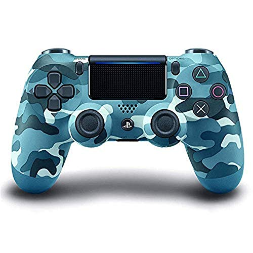 Lqqyx Gamepads PS4 Controller - DualShock 4 Wireless Controller für Playstation 4, Blau Camouflage Gamepads - Ps3 Wireless Controller Blau